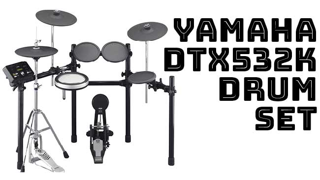 Yamaha DTX532K Drum Set