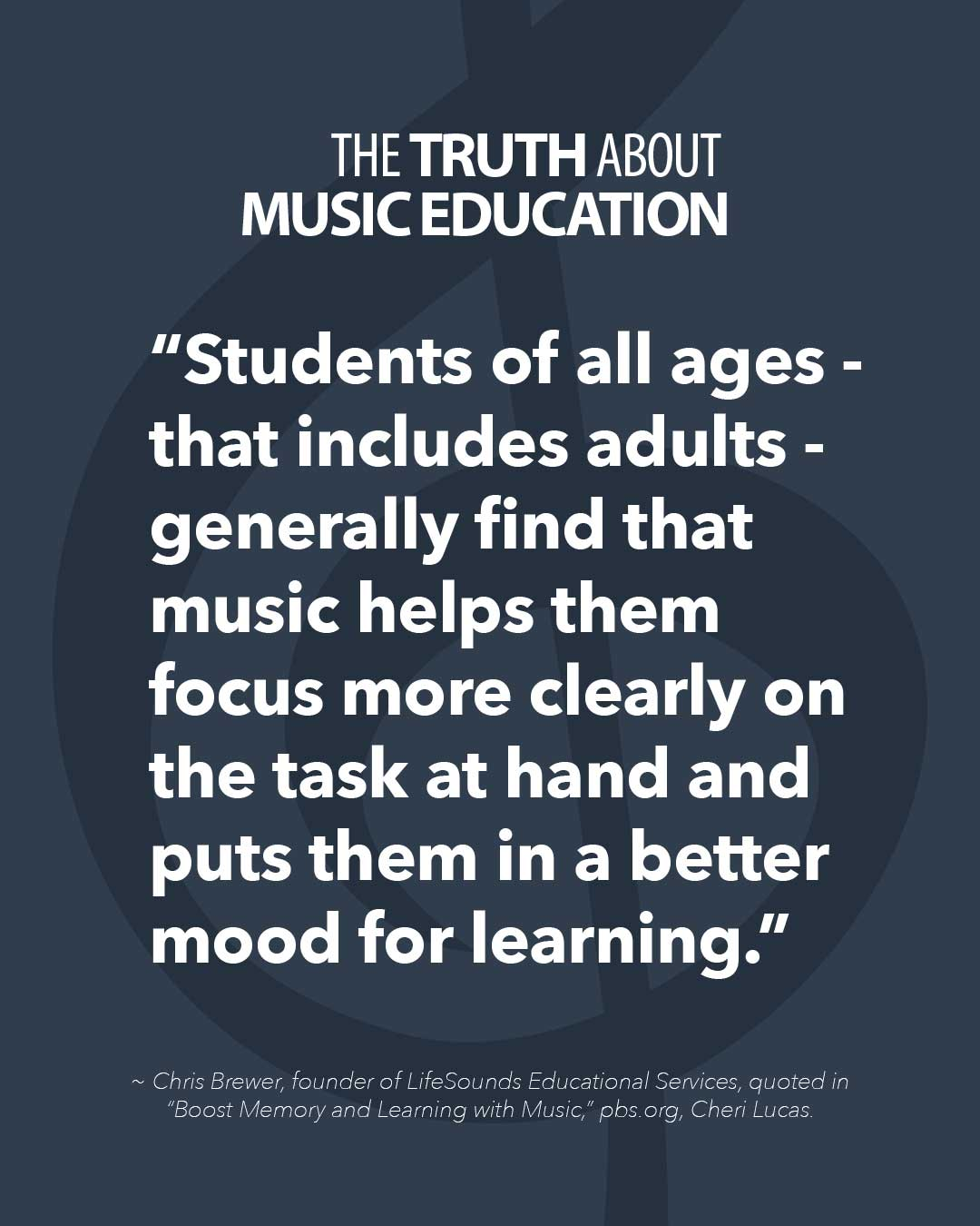 Music Helps Students Focus More Clearly On Tasks | Paige's Music