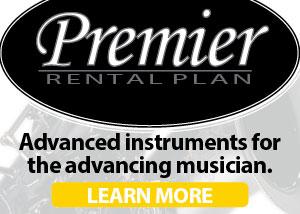 Paige's Music Premier Rental Program - Advanced Instruments for Advancing Students