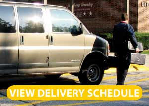 Paige's Music School Delivery Schedule
